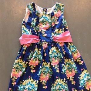 Kelly's Kids Flower Market Betsy Dress Sz 6-7